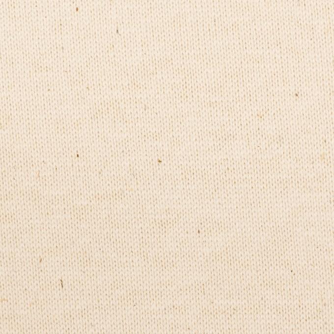 コットン×無地(キナリ)×天竺ニット イメージ1