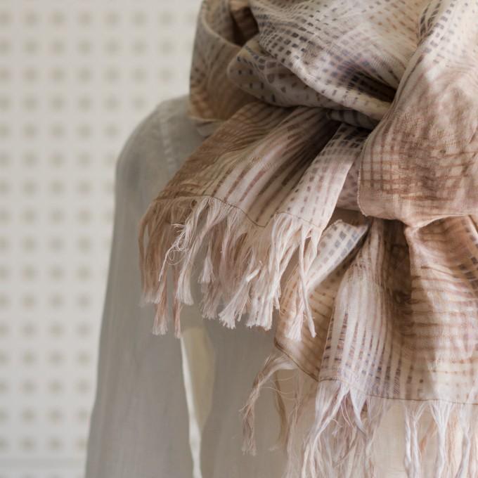 二重織ジャガードのストールキット(マルチ) イメージ4