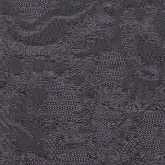 コットン×幾何学模様(グレイッシュパープル)×二重織ジャガード_全2色
