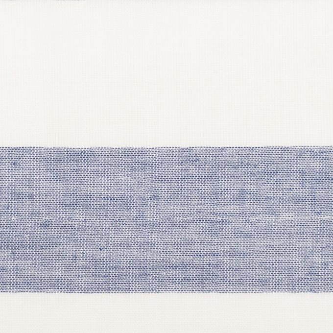 コットン×ボーダー(ネイビー)×Wガーゼ_全3色 イメージ1