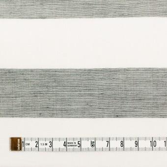 コットン×ボーダー(チャコール)×Wガーゼ_全3色 サムネイル4