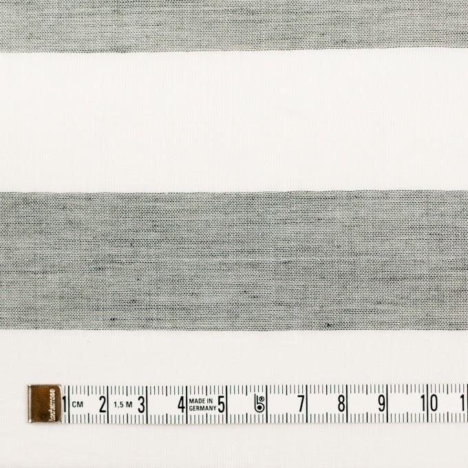 コットン×ボーダー(チャコール)×Wガーゼ_全3色 イメージ4
