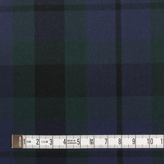 コットン×チェック(モスグリーン&グレープ)×オックスフォード イメージ4