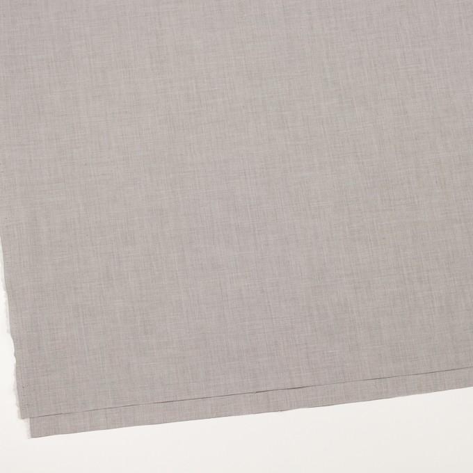 コットン×無地(シルバーグレー)×二重織_全2色_イタリア製 イメージ2
