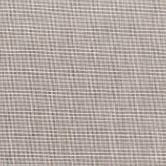 コットン×無地(シルバーグレー)×二重織_全2色_イタリア製