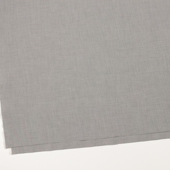 コットン×無地(グレー)×二重織_全2色_イタリア製 イメージ2