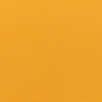 ポリエステル&アセテート×無地(マスタード)×形状記憶タフタ_イタリア製