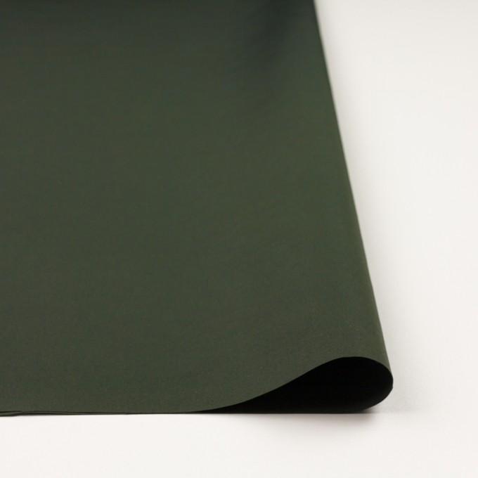 ポリアミド×無地(ディープグリーン)×ファイユ_イタリア製 イメージ3