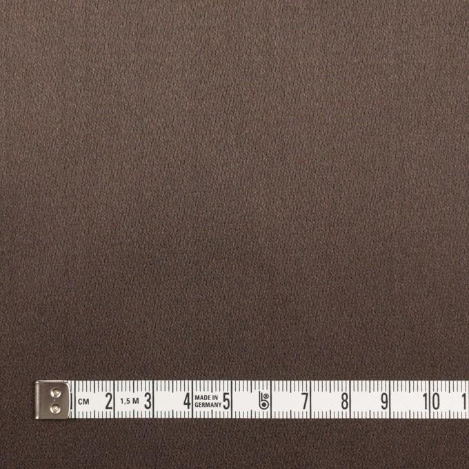 シルク×無地(ダークブラウン)×バックサテングログラン_イタリア製 イメージ6