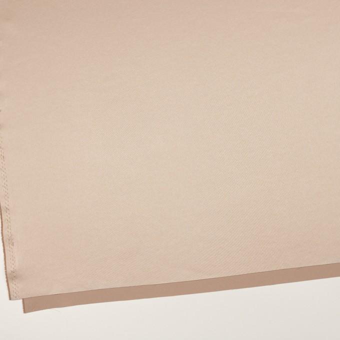 ポリエステル&ポリウレタン×無地(シャンパンゴールド)×サテンストレッチ イメージ2