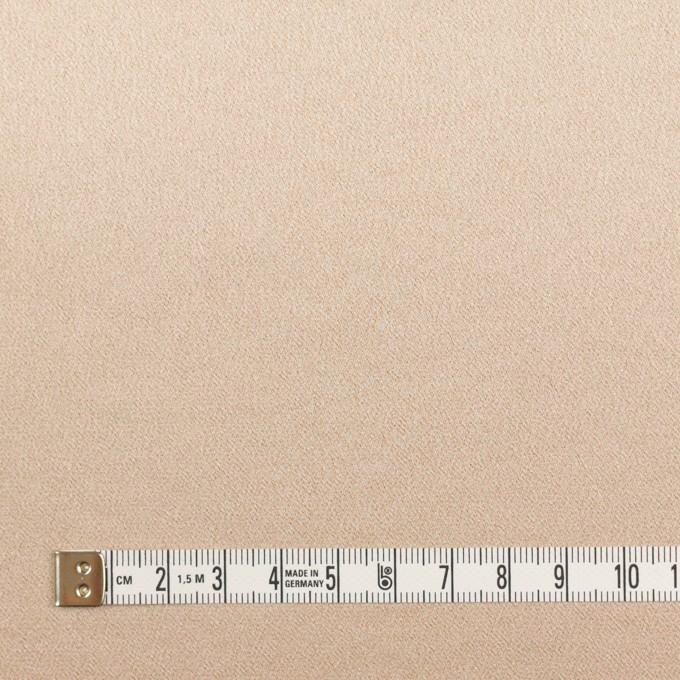 ポリエステル&ポリウレタン×無地(シャンパンゴールド)×サテンストレッチ イメージ4