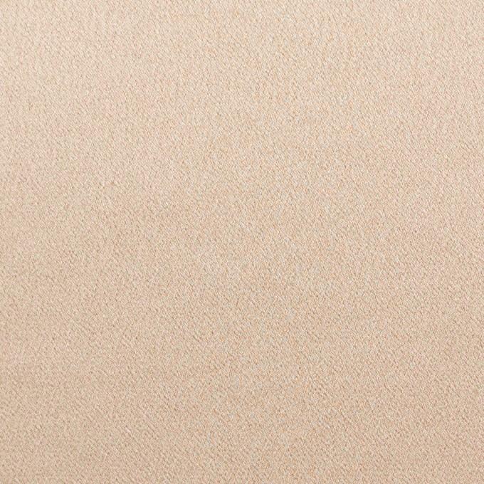ポリエステル&ポリウレタン×無地(シャンパンゴールド)×サテンストレッチ イメージ1