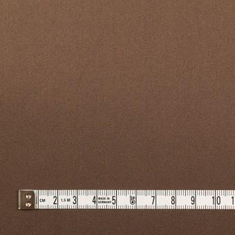 ポリエステル&ポリウレタン×無地(モカブラン)×サテンストレッチ_イタリア製 サムネイル4