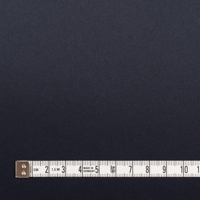 トリアセテート×無地(ネイビー)×サテンストレッチ イメージ4