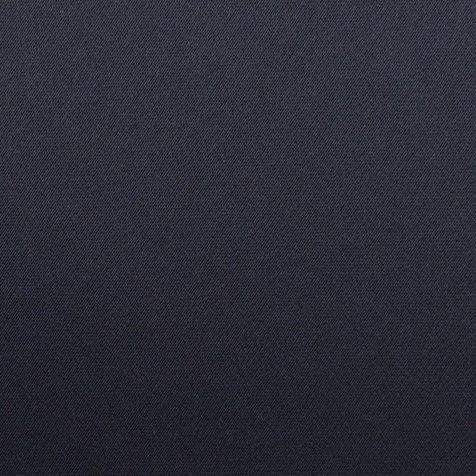 トリアセテート×無地(ネイビー)×サテンストレッチ イメージ1