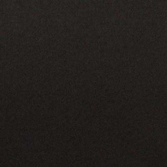 トリアセテート&ポリエステル×無地(ブラック)×サテン
