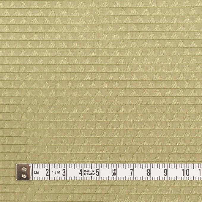 ポリエステル&シルク×トライアングル(アボカド)×ジャガード イメージ4