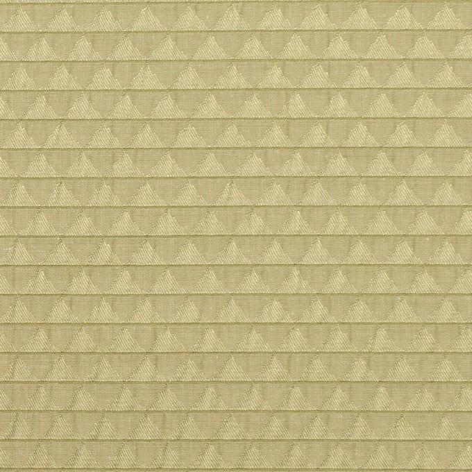 ポリエステル&シルク×トライアングル(アボカド)×ジャガード イメージ1