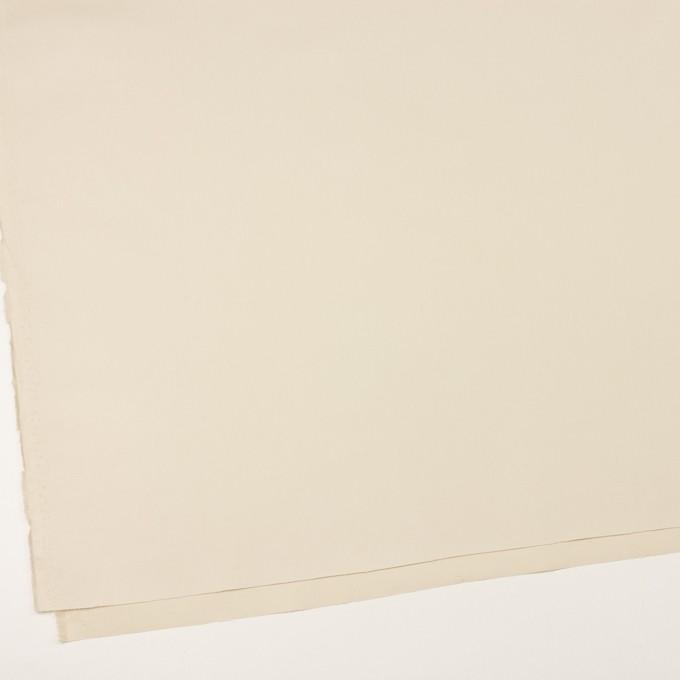 コットン×無地(クリーム)×サージ_イタリア製 イメージ2