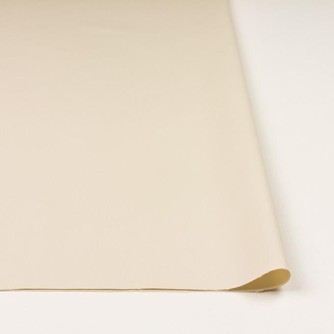 コットン×無地(クリーム)×サージ_イタリア製 イメージ3
