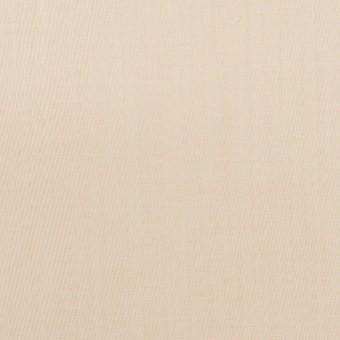 コットン&ポリアミド×無地(ライトベージュ)×ローン_イタリア製