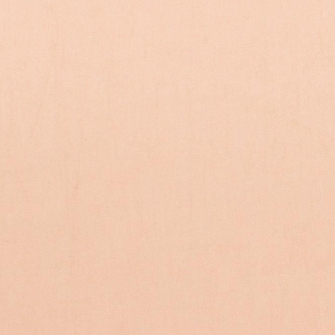 コットン×無地(サーモンピンク)×サージワッシャー_イタリア製_全2色 イメージ1