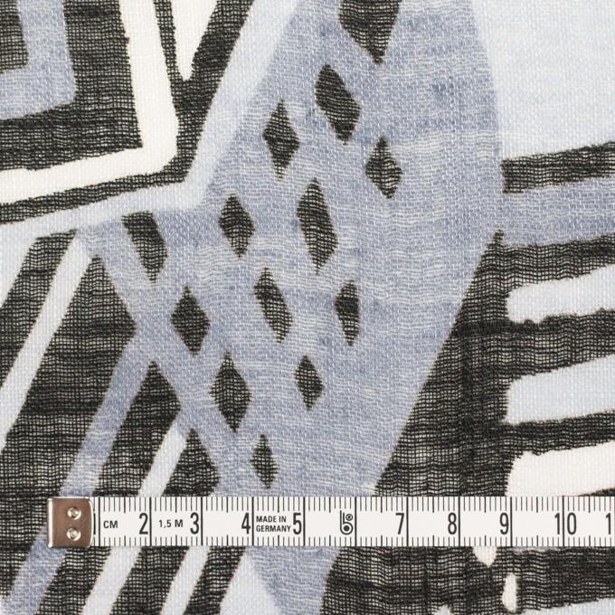 リネン×ペイント(ライトグレー)×ガーゼ_全2色 イメージ4