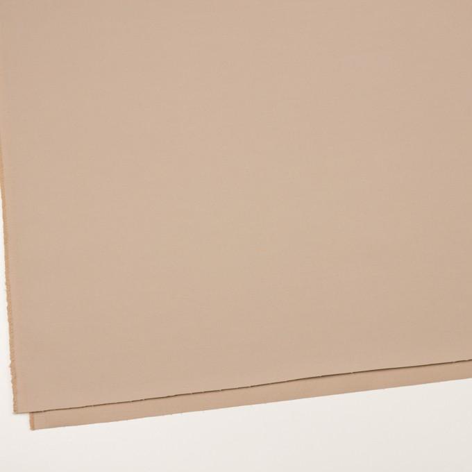 ポリアミド&コットン混×無地(ウォームベージュ)×サージストレッチ_イタリア製 イメージ2