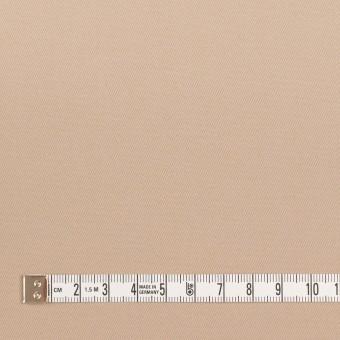 ポリアミド&コットン混×無地(ウォームベージュ)×サージストレッチ_イタリア製 サムネイル4