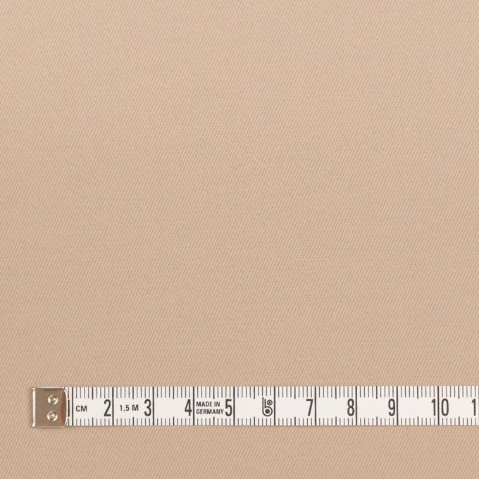 ポリアミド&コットン混×無地(ウォームベージュ)×サージストレッチ_イタリア製 イメージ4