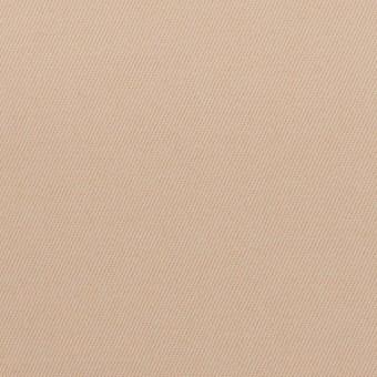 ポリアミド&コットン混×無地(ウォームベージュ)×サージストレッチ_イタリア製
