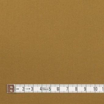 コットン×無地(カーキ)×キャンバス(パラフィン加工)_イタリア製 サムネイル4