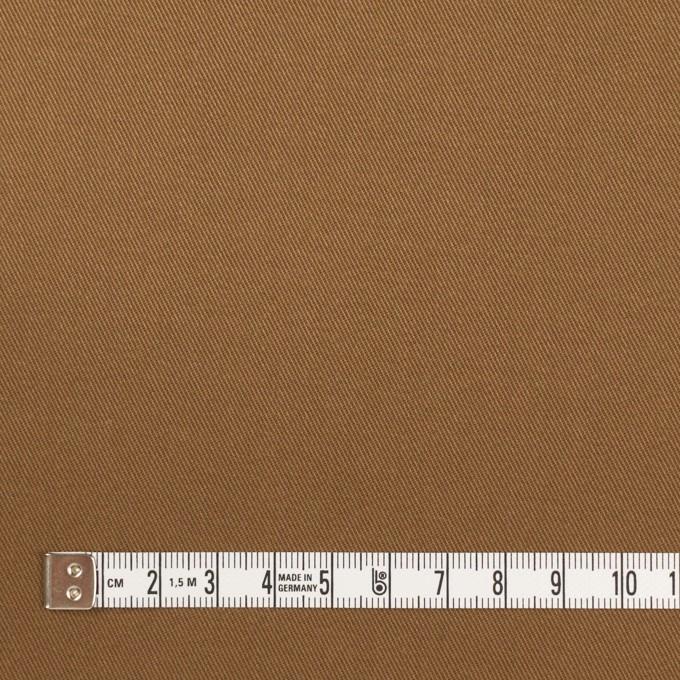 コットン&ポリウレタン×無地(カーキブラウン)×チノクロス・ストレッチ イメージ4