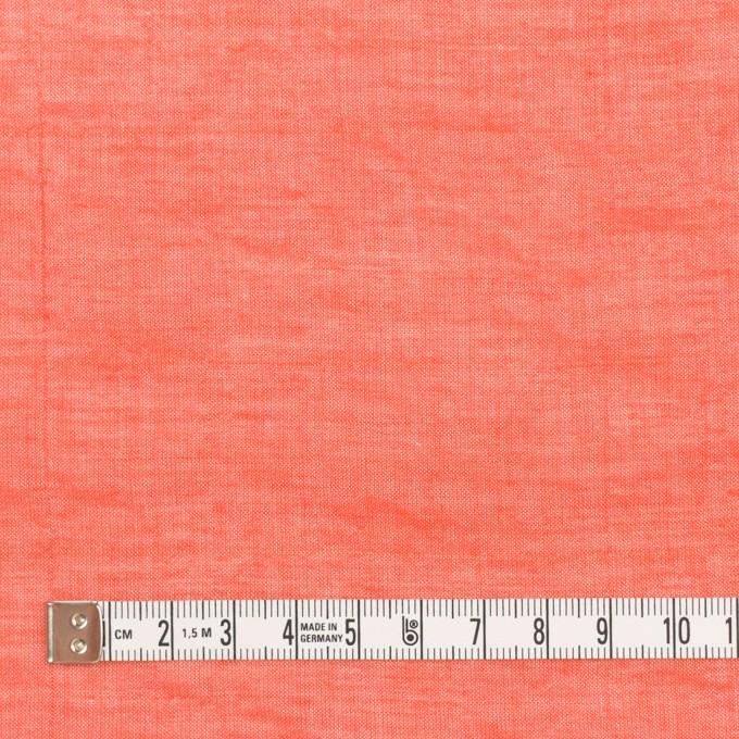テンセル&コットン混×無地(パッションレッド)×ボイルシャーリング_全4色 イメージ4