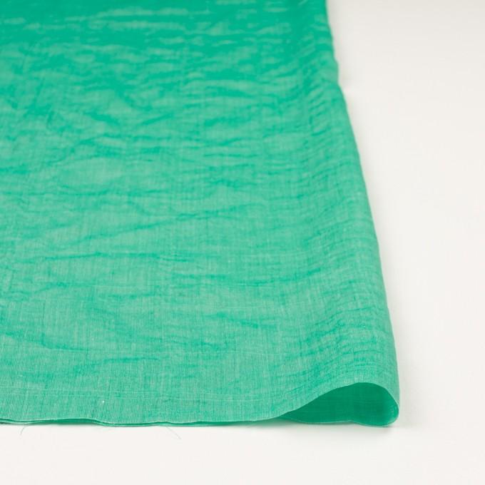 テンセル&コットン混×無地(エメラルドグリーン)×ボイルシャーリング_全4色 イメージ3