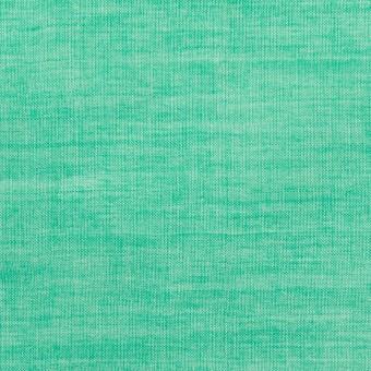 テンセル&コットン混×無地(エメラルドグリーン)×ボイルシャーリング_全4色