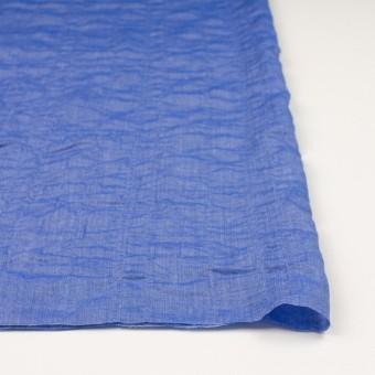 テンセル&コットン混×無地(ブルー)×ボイルシャーリング_全4色 サムネイル3