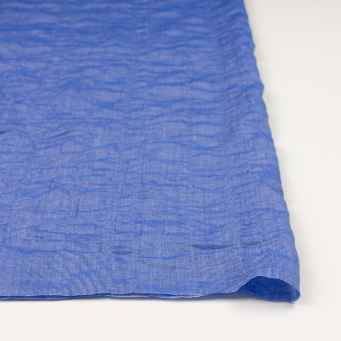 テンセル&コットン混×無地(ブルー)×ボイルシャーリング_全4色 イメージ3