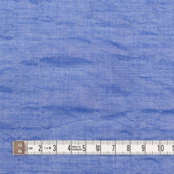 テンセル&コットン混×無地(ブルー)×ボイルシャーリング_全4色 イメージ4