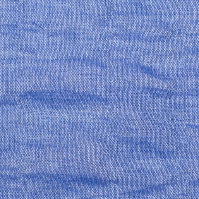 テンセル&コットン混×無地(ブルー)×ボイルシャーリング_全4色 イメージ1