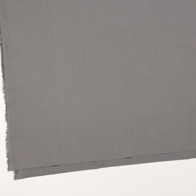 コットン&ビスコース混×無地(スチール)×サージストレッチ_全4色_イタリア製 イメージ2
