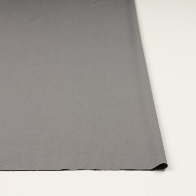 コットン&ビスコース混×無地(スチール)×サージストレッチ_全4色_イタリア製 イメージ3