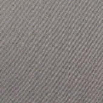 コットン&ビスコース混×無地(スチール)×サージストレッチ_全4色_イタリア製