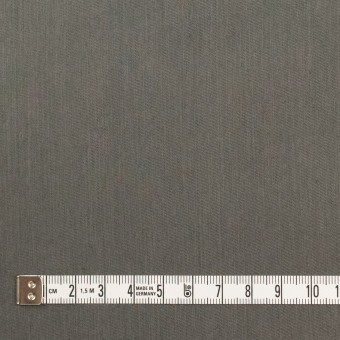 コットン&ビスコース混×無地(チャコールグレー)×サージストレッチ_全4色_イタリア製 サムネイル4