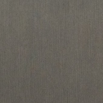 コットン&ビスコース混×無地(チャコールグレー)×サージストレッチ_全4色_イタリア製