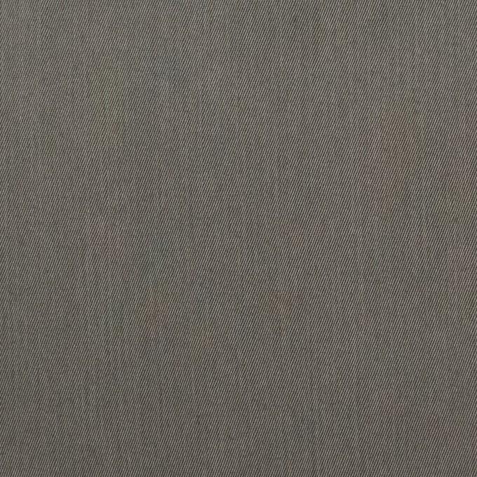 コットン&ビスコース混×無地(チャコールグレー)×サージストレッチ_全4色_イタリア製 イメージ1