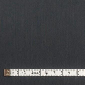 コットン&ビスコース混×無地(チャコール)×サージストレッチ_全4色_イタリア製 サムネイル4