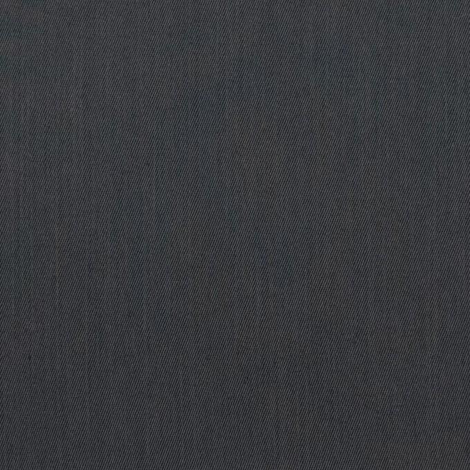 コットン&ビスコース混×無地(チャコール)×サージストレッチ_全4色_イタリア製 イメージ1