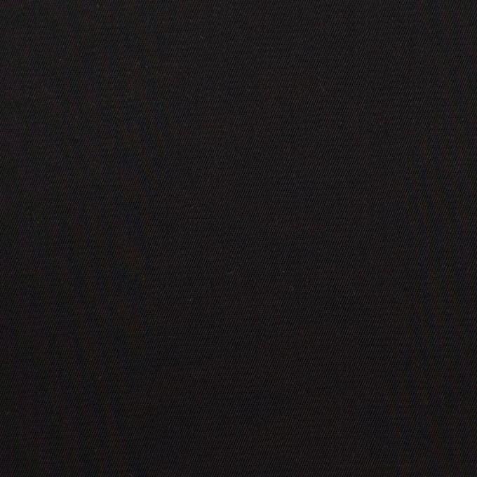 コットン&ビスコース混×無地(ブラック)×サージストレッチ_全4色_イタリア製 イメージ1