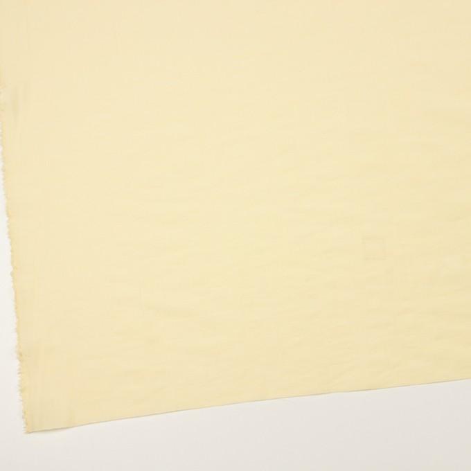 コットン&ポリアミド混×無地(クリームイエロー)×ローンワッシャー_イタリア製 イメージ2